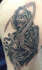 Grim Reaper Tattoos 42 Tattoo Seo