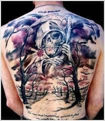 Grim Reaper Tattoos 43