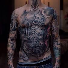Grim Reaper Tattoos 49