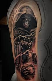 Grim Reaper Tattoos 5