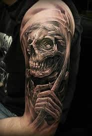 Grim Reaper Tattoos 6