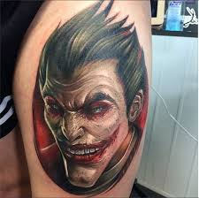 Joker Tattoos 11