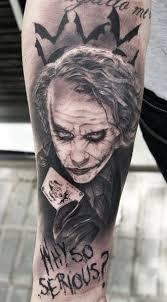 Joker Tattoos 13