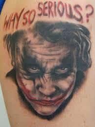 Joker Tattoos 14
