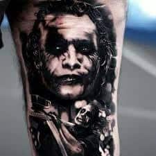 Joker Tattoos 19