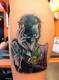Joker Tattoos 24