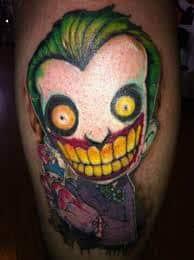 Joker Tattoos 25