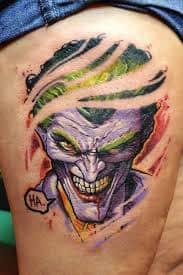 Joker Tattoos 32