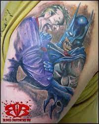 Joker Tattoos 36