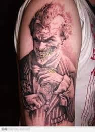 Joker Tattoos 38