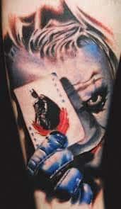 Joker Tattoos 39