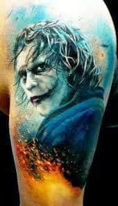 Joker Tattoos 40