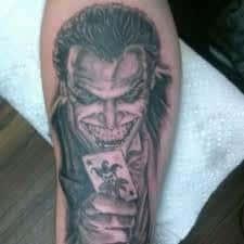 Joker Tattoos 43