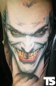 Joker Tattoos 47