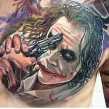 Joker Tattoos 48