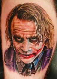 Joker Tattoos 49