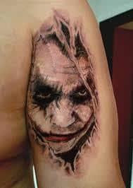 Joker Tattoos 52