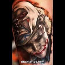 Joker Tattoos 7