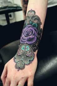 Lace Tattoos 3