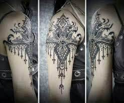 Lace Tattoos 44