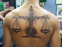 Libra Tattoos 25