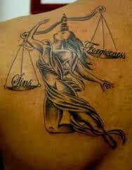 Libra Tattoos 26