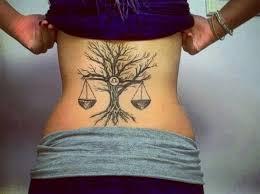 Libra Tattoos 4