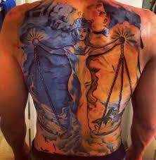 Libra Tattoos 8