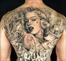 Marilyn Monroe Tattoos 13