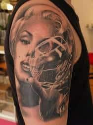 Marilyn Monroe Tattoos 17