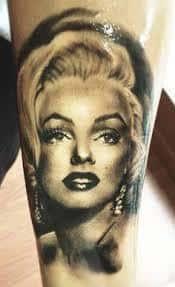 Marilyn Monroe Tattoos 21