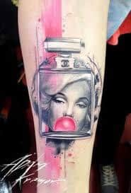 Marilyn Monroe Tattoos 22