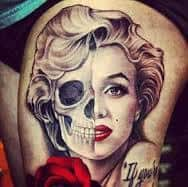 Marilyn Monroe Tattoos 25