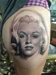 Marilyn Monroe Tattoos 27