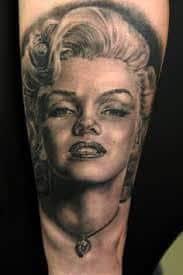 Marilyn Monroe Tattoos 28