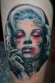 Marilyn Monroe Tattoos 34
