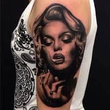 Marilyn Monroe Tattoos 4