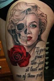 Marilyn Monroe Tattoos 5