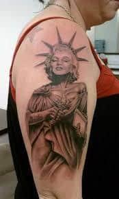 Marilyn Monroe Tattoos 50