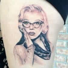 Marilyn Monroe Tattoos 52