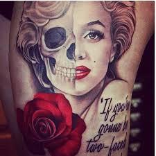 Marilyn Monroe Tattoos 7
