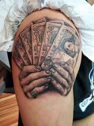 Money Tattoos 1