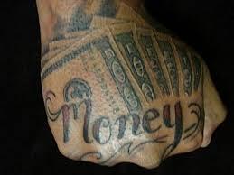 Money Tattoos 10