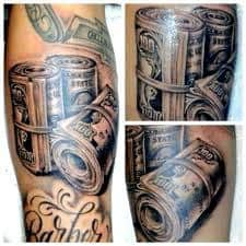 Money Tattoos 23