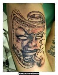 Money Tattoos 30
