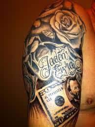 Money Tattoos 33