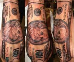 Money Tattoos 35