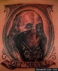 Money Tattoos 36