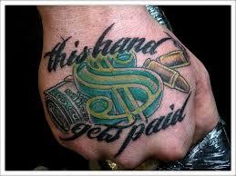 Money Tattoos 39