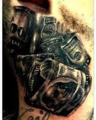 Money Tattoos 41